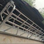 zlp630 / 800 ll formon aluminia alojo, ŝtalo konstruo nuligita labora platformo leviĝo sur konstruado fenestroj