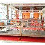 zlp630 aluminio suspendita platformo (ce estaso kosto) / alta supreniro fenestro purigado teamo / tempora gondolo / naskiĝejo / swing stadio varma
