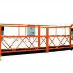 2.5 mm 3 sekcioj 1000kg malakceptita aliro platformo levanta rapido 8-10 m / min
