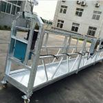 fenestro purigado zlp630 ŝnurego suspendita platformo gondola kradelo kun arko ltd6.3