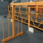 Ununura fazo nuligita dratan ŝnureton platformo 800 kg 1.8 kw, levanta rapido 8 -10 m / min