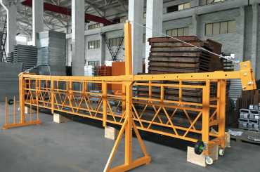 zlp 500 lp 630 provizore suspendita drato ŝnuro platformo por konstruado