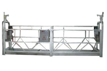 Movebla sekureca ŝnurego nuligita platformon zlp500 kun rangita kapacito 500kg